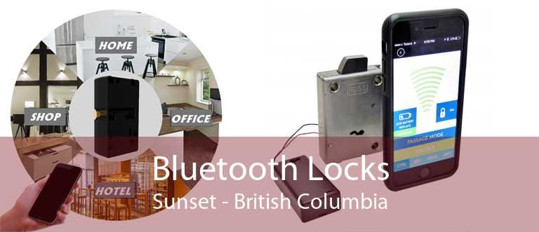 Bluetooth Locks Sunset - British Columbia