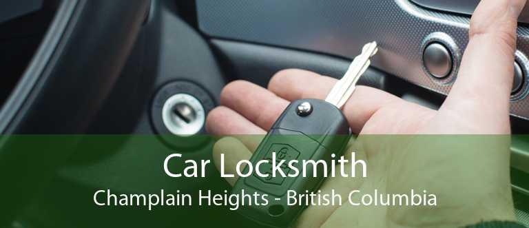 Car Locksmith Champlain Heights - British Columbia