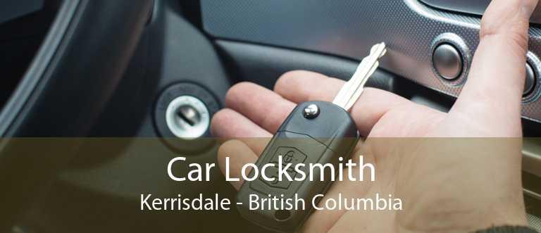 Car Locksmith Kerrisdale - British Columbia
