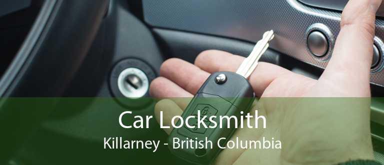 Car Locksmith Killarney - British Columbia