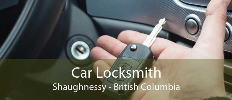 Car Locksmith Shaughnessy - British Columbia