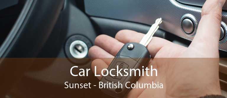 Car Locksmith Sunset - British Columbia