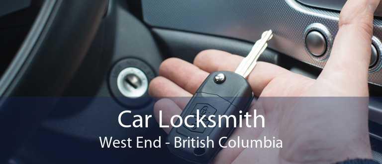 Car Locksmith West End - British Columbia