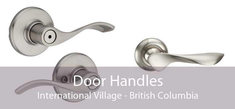 Door Handles International Village - British Columbia