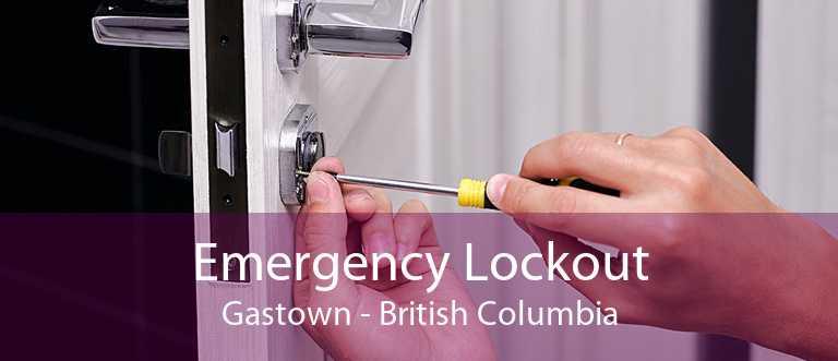 Emergency Lockout Gastown - British Columbia