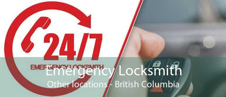 Emergency Locksmith Other locations - British Columbia