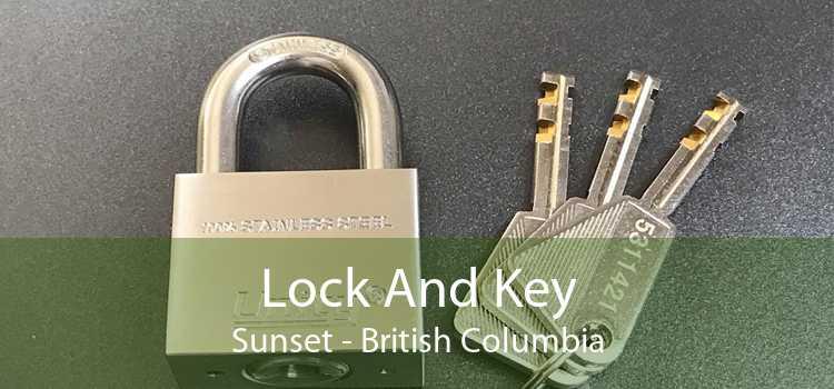 Lock And Key Sunset - British Columbia