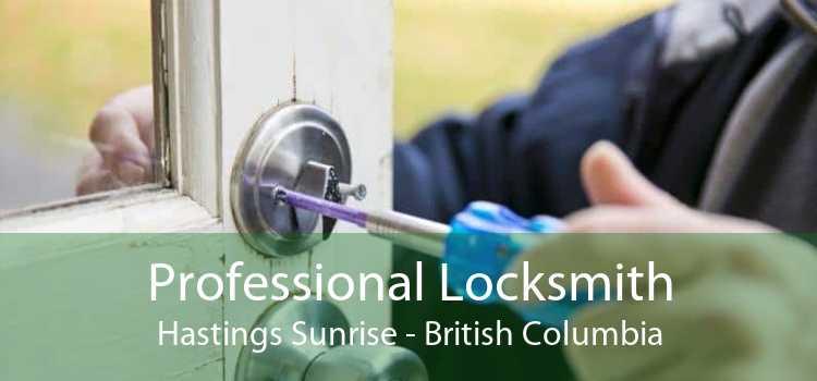 Professional Locksmith Hastings Sunrise - British Columbia