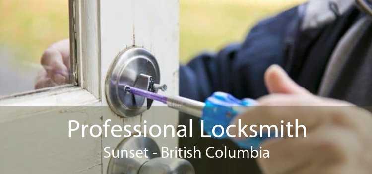 Professional Locksmith Sunset - British Columbia