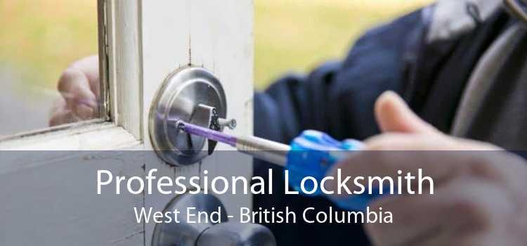 Professional Locksmith West End - British Columbia