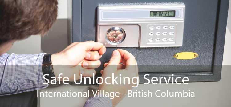 Safe Unlocking Service International Village - British Columbia