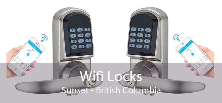 Wifi Locks Sunset - British Columbia
